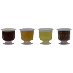 Coupelle alvéolée -Coupe à miel plastique