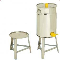 SUPPORT en acier INOX pour maturateurs de 100 kg - Ø 380 mm